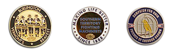 Other challenge coin back images