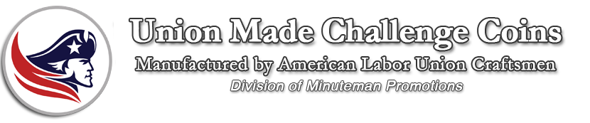 Union Made Challenge Coins